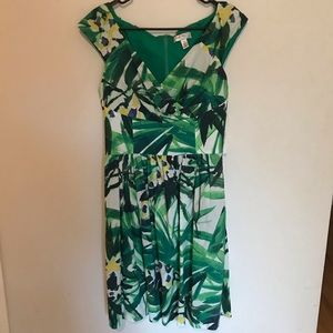 $158 NWT Ivy & Blu Maggy Nordstrom Floral Size 10